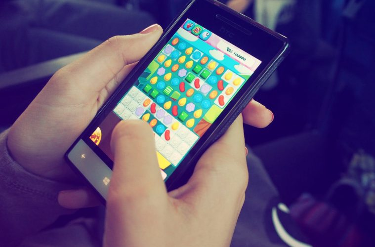 wordt er veel gebruikt gemaak van de mobiel voor gamen?